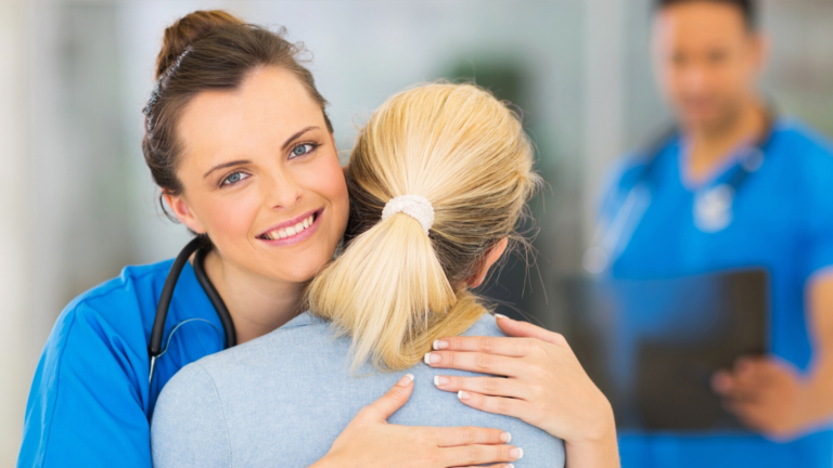 Healthcare Workers are Helpers